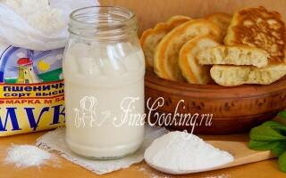 Закваска пшеничне для хліба рецепт