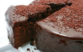 Як зробити шоколадний бісквіт