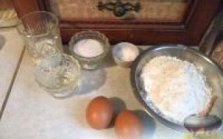 Як зробити солодке тісто