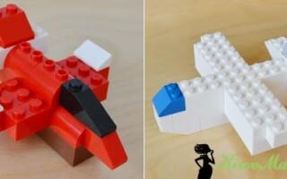 Як зробити літак з лего