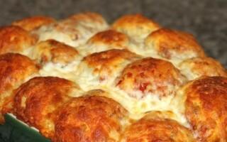 Піца хліб рецепт відео