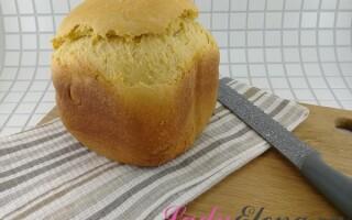 Молочний хліб в хлібопічці рецепти