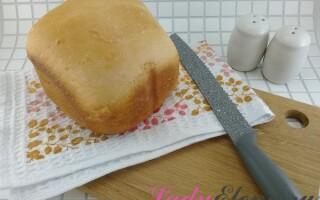 Рецепт нарізної хліба в хлібопічці