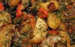 Картопля з чорносливом