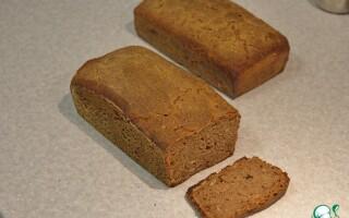Житній хліб на заквасці в домашніх умовах в духовці рецепт відео