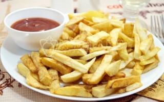 Картопля фрі в домашніх умовах у фритюрниці