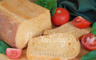 Томатний хліб в хлібопічці рецепти