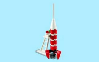 Як з лего зробити ракету