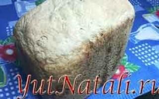 Рецепт селянського хліба для хлібопічки