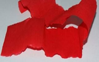 Як зробити тюльпани з гофрованого паперу