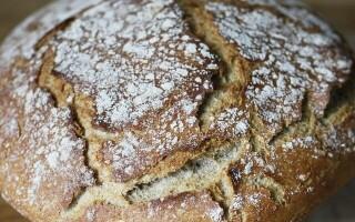 Простий рецепт житньо пшеничного хліба