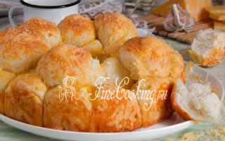 Хліб з часником і сиром в духовці рецепт
