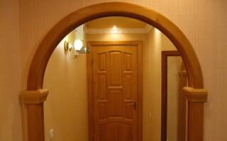 Як зробити арку в дверному отворі своїми руками