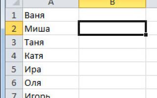 Як зробити випадаючий список в excel