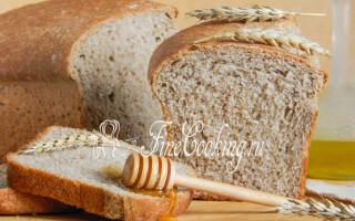 Хліб чорний німецький рецепт