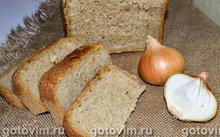 Хліб з цибулею на заквасці рецепти