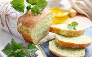 Хліб з кропивою рецепт