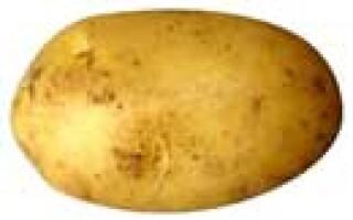 Маска з картоплі для обличчя від набряків