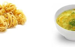 Суп курячий з локшиною і картоплею калорійність