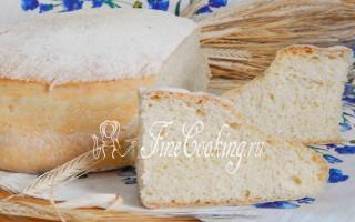Рецепт хліба поляница в духовці в домашніх умовах