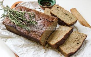 М'ясний хліб рецепт з курки з печінкою