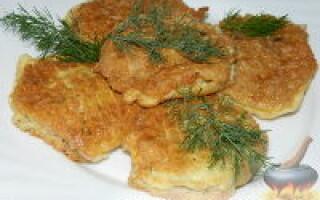 Котлети з телятини рецепт на сковороді з хлібом