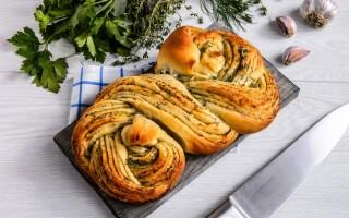 Хліб косичка рецепт з фото крок за кроком в духовці
