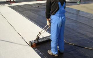 як полагодити дах з руберойду