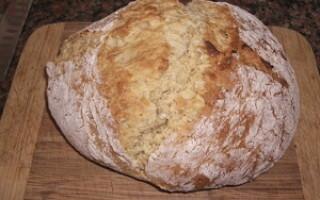 Хліб на сковороді відео рецепт
