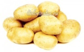 Молода картопля користь