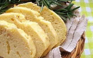 Пісний хліб з кукурудзяної муки без додавання пшеничного борошна рецепти