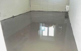 Як зробити наливна підлога