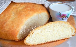 Молочний хліб рецепт