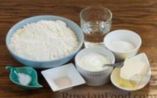 Хліб на сметані в духовці рецепт з фото