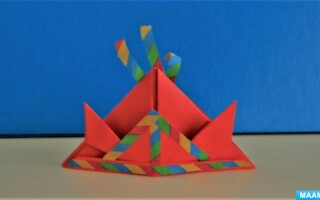 Як зробити шолом з паперу