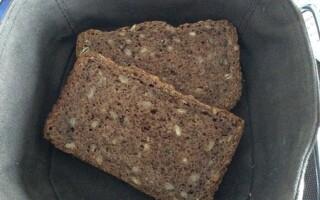 Рецепт хліба з горіхами і насіннячками