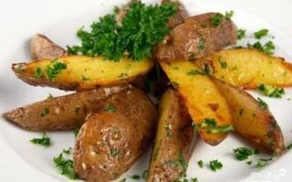 Картопля по домашньому з м'ясом