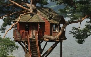 Як зробити будиночок на дереві
