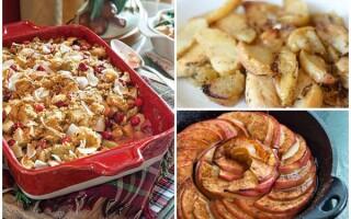 Як зробити печені яблука в духовці