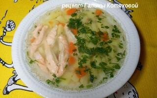 Суп з пшона рецепт з картоплею