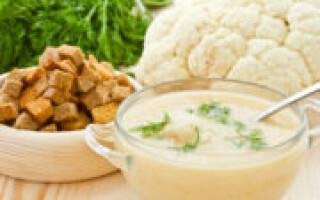 Пюре з цвітної капусти та картоплі