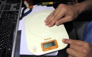 як полагодити електронні ваги підлогові