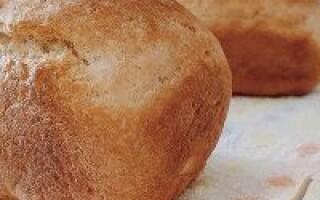 Хліб в домашній духовці з хрусткою скоринкою рецепт