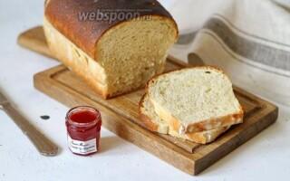 Рецепт тостового хліба