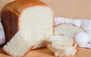 Яєчний хліб рецепт
