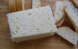 Хліб в клярі з яєць рецепт
