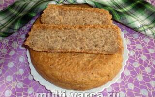 Рецепт бородинского хліба для мультиварки