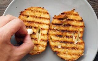 Грінки з білого хліба рецепт