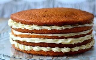 Як зробити коржі для торта