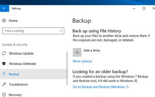 Як зробити резервну копію windows 10